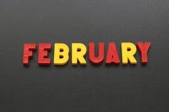February Royalty Free Stock Image