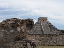 February in Mexico, Chichsn Itza Stock Image