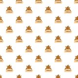 February pattern seamless vector royalty free illustration