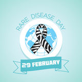 29 February  Rare Disease Day Stock Photo