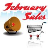 February sales Royalty Free Stock Photo