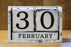 February 30 Royalty Free Stock Photo