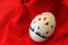 February Valentine Heart Egg Royalty Free Stock Images