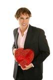 Fecha de las tarjetas del día de San Valentín Fotos de archivo