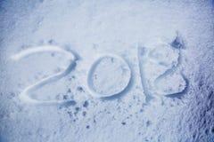 Fecha del Año Nuevo Imagenes de archivo