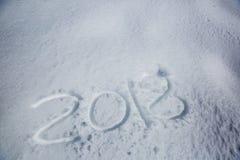 Fecha del Año Nuevo Foto de archivo libre de regalías