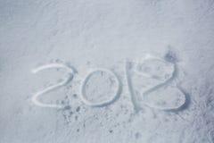 Fecha del Año Nuevo Imagen de archivo