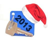 Fecha del Año Nuevo 2013 Imagen de archivo libre de regalías