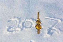 Fecha del Año Nuevo Foto de archivo