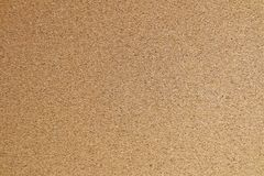 Fechado acima da textura horizontal de Brown Cork Board Foto de Stock Royalty Free