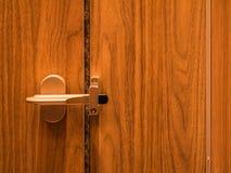 Fechadura da porta do toalete standless Imagem de Stock