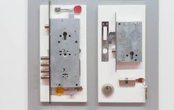 Fechadura da porta segura fotografia de stock