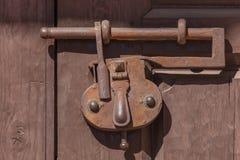 Fechamento antigo do ferro Imagens de Stock