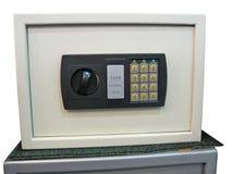 Fechamento chave seguro, economias, painel de controle, segurança Foto de Stock Royalty Free
