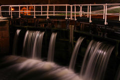 Fechamento da água do canal   Imagem de Stock Royalty Free