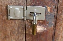 Fechamento da segurança Fotografia de Stock