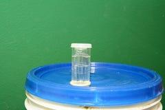 Fechamento de ar da fermentação home fotos de stock