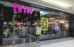 Fechamento de HMV Canadá Imagens de Stock