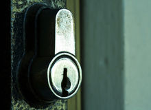 Fechamento de porta Fotografia de Stock