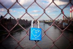 Fechamento do amor Imagens de Stock