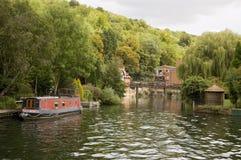 Fechamento do pântano, Henley-Em-Tamisa imagem de stock
