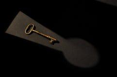 Fechamento e chave 1 fotografia de stock