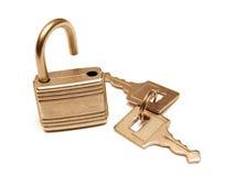 Fechamento e chaves Imagem de Stock