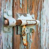 Fechamento oxidado imagens de stock