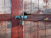 Fechamento oxidado velho Imagem de Stock