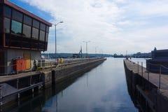 Fechamentos de Seattle no lago Washington Imagens de Stock Royalty Free