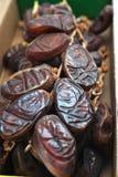 Fechas de Medjool Imagen de archivo libre de regalías