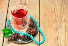 Fechas de Ramadan Imágenes de archivo libres de regalías