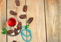 Fechas de Ramadan Imagen de archivo libre de regalías