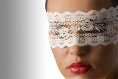 Feche acima com máscara Imagens de Stock Royalty Free