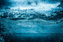 Feche acima da água Fotografia de Stock Royalty Free