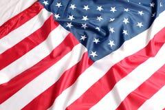 Feche acima da bandeira americana Foto de Stock Royalty Free