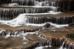 Feche acima da cachoeira Imagem de Stock