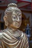 Feche acima da cara da Buda Fotografia de Stock Royalty Free