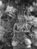 Feche acima da estátua de Grey Buddha Fotografia de Stock Royalty Free