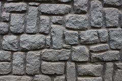 Feche acima da foto de uma parede preta da rocha Fotos de Stock