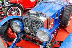 Feche acima da imagem conservada em estoque automobilístico do vintage de Ford Imagem de Stock