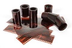 tira do filme negativo de 35 milímetros Foto de Stock