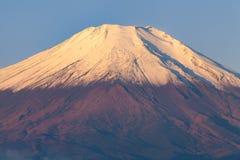 Feche acima da montanha de Fuji Fotografia de Stock