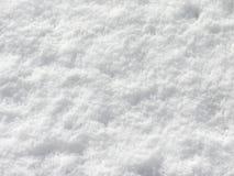 Feche acima da neve branca Fotos de Stock