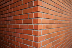 Feche acima da parede de tijolo Fotografia de Stock Royalty Free