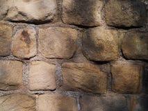 Feche acima da parede do castelo fotos de stock