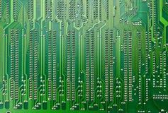 Feche acima da placa de circuito do computador imagens de stock royalty free