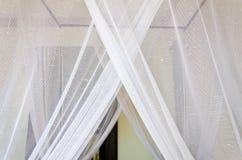Feche acima da rede de mosquito Fotografia de Stock