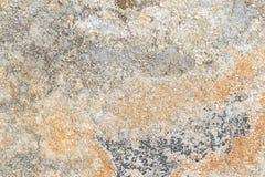Feche acima da rocha velha ou da textura de pedra Imagens de Stock