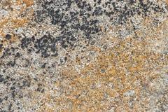Feche acima da rocha velha ou da textura de pedra Fotografia de Stock